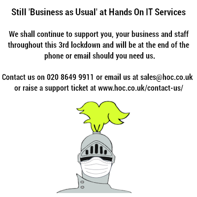 Still Business As Usual Hands On IT Services
